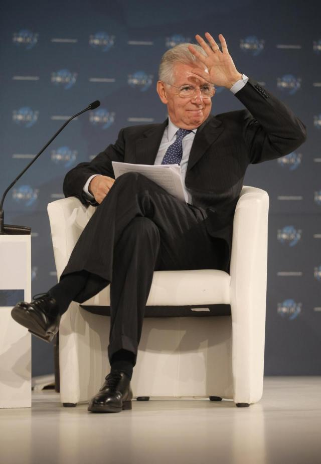 Cannes, Discorso di Mario Monti al 'World Policy Conference'