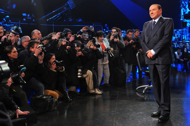ITALY-POLITICS-MEDIA-BERLUSCONI-SANTORO