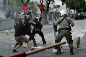 GREECE-VIOLENCE-EXTREMISM-CRIME-ECONOMY