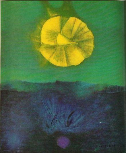 Max Ernst, ´Wenn die Vernunft schläft, singen sie Sirenen', 1960