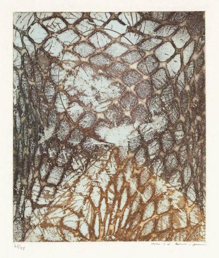 Max Ernst, 'Zu- Samuel Beckett, aus einem aufgegebenen Werk', 1967
